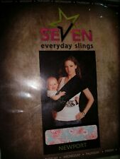 Seven Everyday Sling Infant To Toddler Carrier Wrap Sz 4