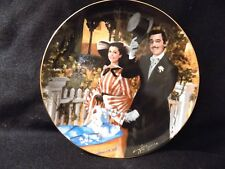 """GONE WITH THE WIND COLLECTORS PLATE """" STROLLING IN ATLANTA"""""""