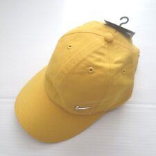Nike Youth Metal Swoosh Snapback Cap Hat - 405043 - Yellow 713 -