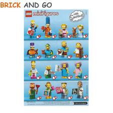 LEGO Minifig Figurine Minifigure 71009 Serie Simpson 2 Au Choix NEUF NEW