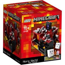 LEGO Minecraft - Micro World - The Nether - Ideas 21106 - Brand New & Sealed