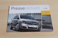 102488) Opel Zafira - Pressestimmen - Prospekt 2005
