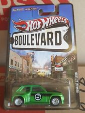 2011 Hotwheels Boulevard - Renault 5 Turbo [GREEN] MINT [12 CARS POSTED FOR $10]
