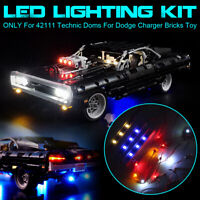 USB LED Light Lighting Kit For LEGO 42111 Technic Doms For Dodge Charge