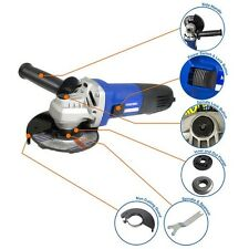 "4 1/2"" Angle Grinder Corded Electric 230V 4.5"" Angle Grinder Power Tool Hyundai"
