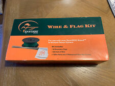 New listing SportDog Wire & Flag Kit Sdf-Wf In-Ground Fence System 500ft 50 Flags 1/3rd Acre