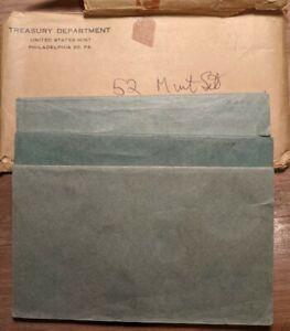 1952 US DOUBLE MINT SET Original Set Rainbow Toned High Grade PQ+ BU UNC Coins