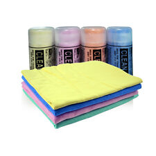 4 PCS Super Absorbent PVA Chamois Towel Car Cleaning Washing Cloth Quick Drying