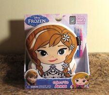 Disney Frozen Anna Color And Go Plush Draw Wash NEW