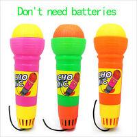 New Echo Microphone Mic Voice Changer Toy Baby Kids Birthday Present pt