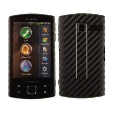 Skinomi Carbon Fiber Black Cover+Screen Protector for Garmin-Asus Nuvifone A50