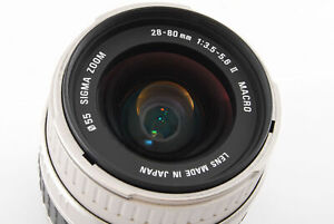 ⭐️Near MINT⭐️ Sigma Zoom 28-80mm f/3.5-5.6 II AF Lens for Canon EOS From JAPAN