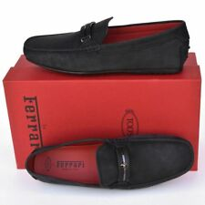 TOD'S Tods Ferrari New sz UK 12.5 - US 13.5 Mens Drivers Loafers Shoes black