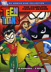 Teen Titans The Complete Season 4 DC Comics Series Four Fourth Region 4 DVD