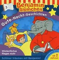 Gute Nacht Gesch.-Folge 3 von Benjamin Blümchen | CD | Zustand gut