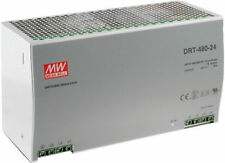 DRT-480-24 - MEAN WELL 480W THREE PHASE INDUSTRIAL DIN RAIL POWER SUPPLY, 24VDC