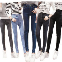 NEW WOMEN LADIES SLIM SKINNY FIT DENIM JEANS JEGGINGS SIZE 8 10 12 14 16