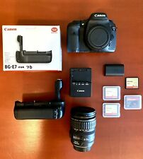 Canon 3814B010 Eos 7D 18.0Mp Digital Slr Camera with 28-135mm Lens & Accessories