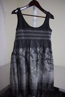 Steve Madden Polyester Blend Multi-Colored Floral Lined Mini Tea Dress Size - 8