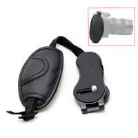 PU Leather Camera Hand Grip Wrist Strap Belt Bag Holder For Canon DSLR Camera