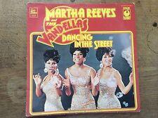 Martha Reeves and the Vandellas Dancing in the Street Tamla Motown LP Vinyl EMI