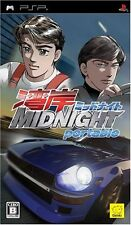 Used Wangan Midnight Portable (Sony PSP, 2007) Free Shipping