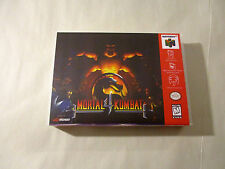 Mortal Kombat 4 Custom N64 - Nintendo 64 Case (NO GAME)