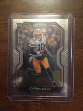 2020 Panini Prizm SILVER Jordan Love Rookie Card RC #363 Green Bay Packers