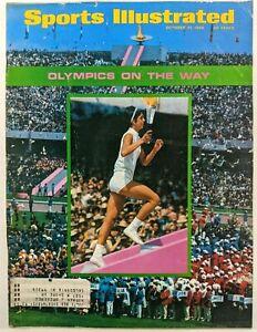 Sports Illustrated October 21 1968 Olympics Jayhawks Football Johnny Unitas NBA