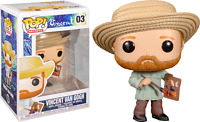 Vincent Van Gogh Artist Funko Pop Vinyl New in Mint Box + Protector