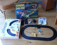 Aurora AFX 24 Hour Race GX1750 Vintage Slot Car Racing Set SEE DESC inc UK P+P