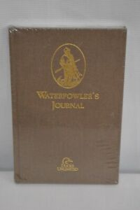 New Sealed Waterfowler's Journal by Ducks Unlimited Brown Hardcover