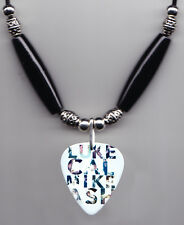 5 Seconds of Summer Names Guitar Pick Necklace 5Sos Luke Cal Mike Ash
