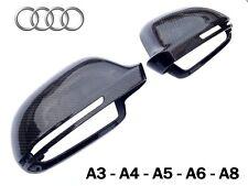 Coque rétroviseur Carbone AUDI A3 8P S3 A4 S4 A5 A6 A8 Q3 // retro