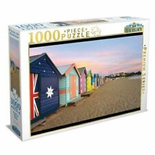 Tilbury Brighton Beach Boxes Puzzle 1000pc