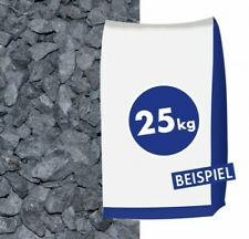 (0,48€/1kg) Marmorsplitt Nero Ebano 12-16mm 25kg Sack