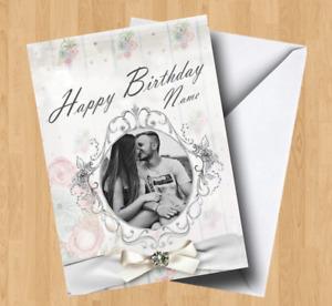 Personalised Own Photo/Picture (Wife/Husband/Boyfriend/Girlfriend) Birthday Card