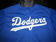 Los Angeles Dodgers Blue Diamond Authentic Majestic Jersey Men XL