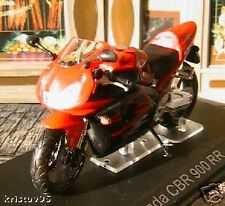 MOTO BIKE HONDA CBR 900 RR 1/24 NEW ROADSTER ROUGE RED