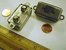 SANGAMO 5006-.1   Bathtub Capacitor   .1uF 600v   Solder lugs   Lot of 1