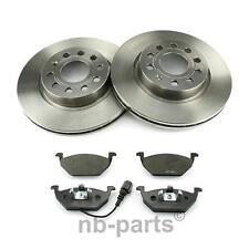 Discos de Frenos + Forros Delantero Diámetro 280 Ventilado Audi Seat Skoda VW