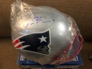 Tom Brady Autographed Riddell Proline Patriots Helmet TRISTAR Authentic