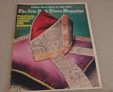 New York Times Magazine Catholic Bishops; Eldridge Cleaver; Russian Fash 1977 NF