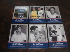 2001 Upper Deck Baseball---Pinstripe Exclusives---DiMaggio---Lot Of 6---See List