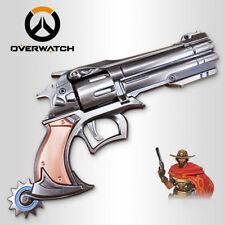 Jesse Mccree Overwatch Hero Cosplay Halloween Props Weapon Gun Laser Revolver