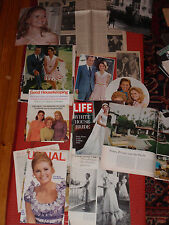 A LOT OF NEWSPAPER CLIPPINGS TIME & SAT. EVE. POST MAGAZINES PRES. NIXON