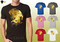 Marilyn Monroe Shirts Unisex T-Shirts with Marilyn Monroe Designs Tees 17541fl2