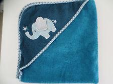 Kapuzenhandtuch Baby Elefant türkis-petrol Badetuch Handtuch Kapuze