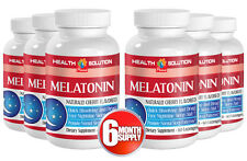 Melatonin For Better Sleep - MELATONIN 3MG - Prevents Glutathione 6B