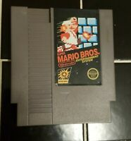 Super Mario Bros Nintendo NES Video Game Cart 5 Screw Version TESTED!!